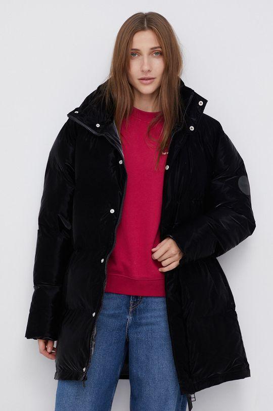 Rains - Kurtka 1536 Extra Long Puffer Coat czarny