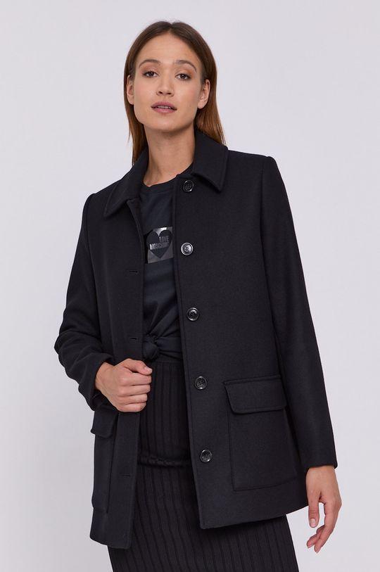 Love Moschino - Płaszcz czarny