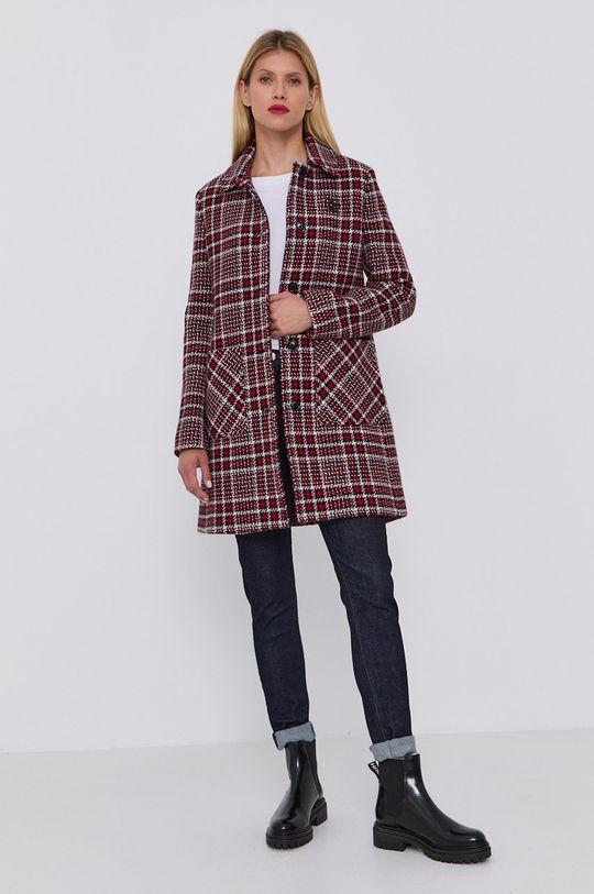 vícebarevná Love Moschino - Kabát Dámský