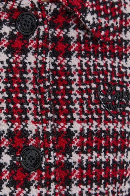 vícebarevná Love Moschino - Kabát