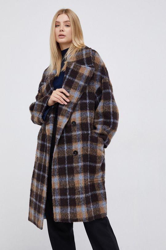 brązowy Drykorn - Płaszcz z domieszką wełny Loughton Damski