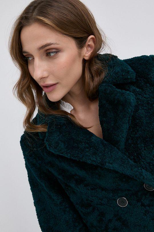 stalowy zielony Morgan - Płaszcz GEX