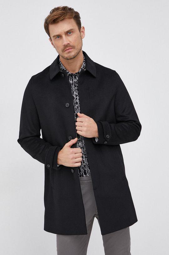 černá Tiger Of Sweden - Vlněný kabát