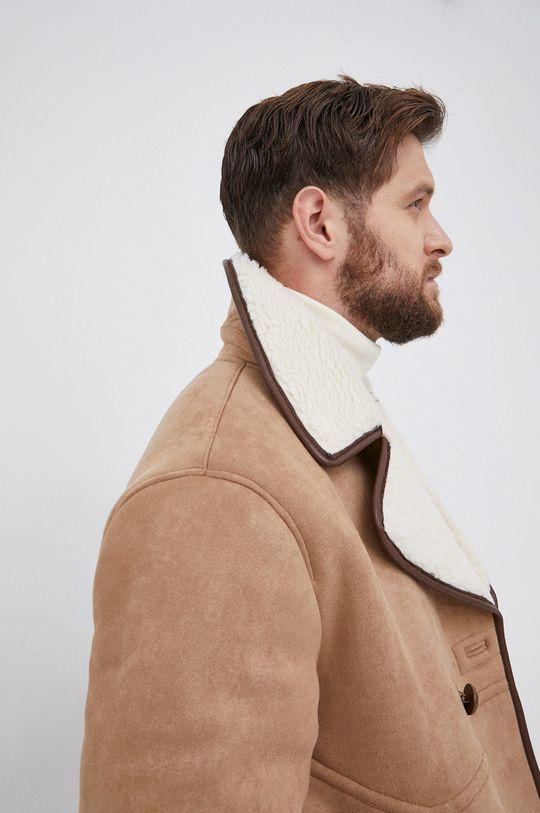 beżowy Guess - Płaszcz