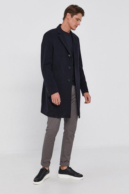 námořnická modř Boss - Kabát Pánský