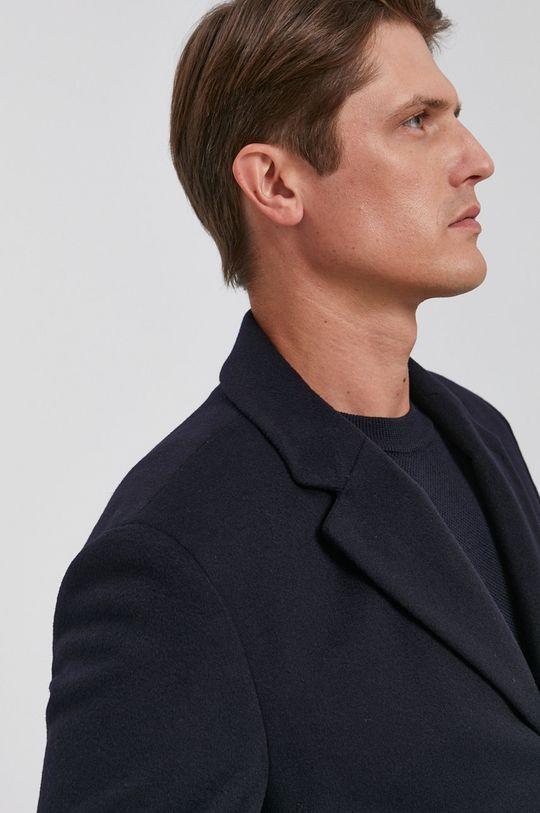 námořnická modř Boss - Kabát