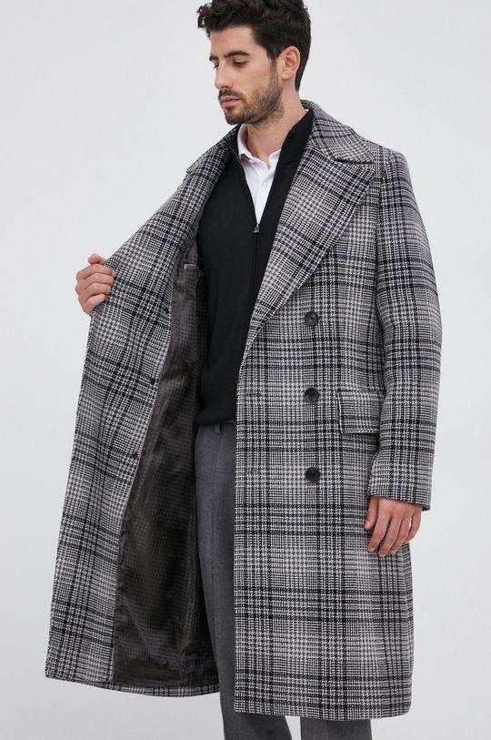 Boss - Płaszcz wełniany