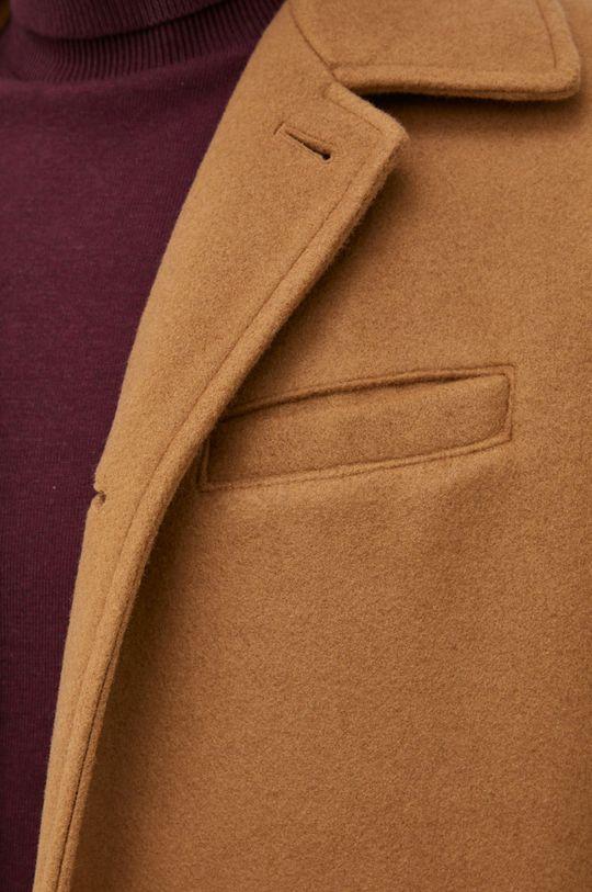 GAP - Płaszcz z domieszką wełny Męski