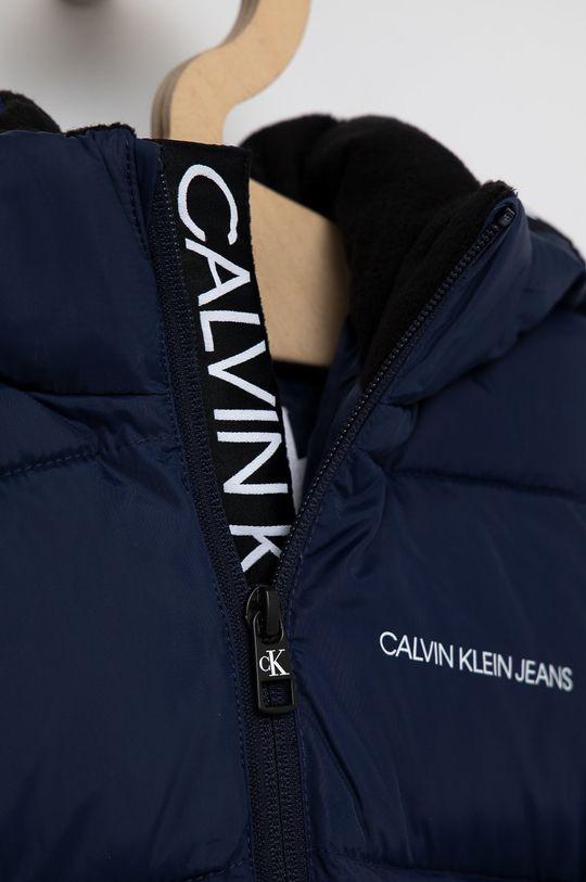 námořnická modř Calvin Klein Jeans - Dětská bunda