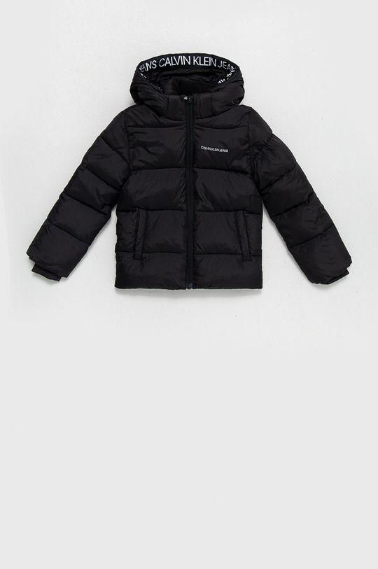 černá Calvin Klein Jeans - Dětská bunda Chlapecký