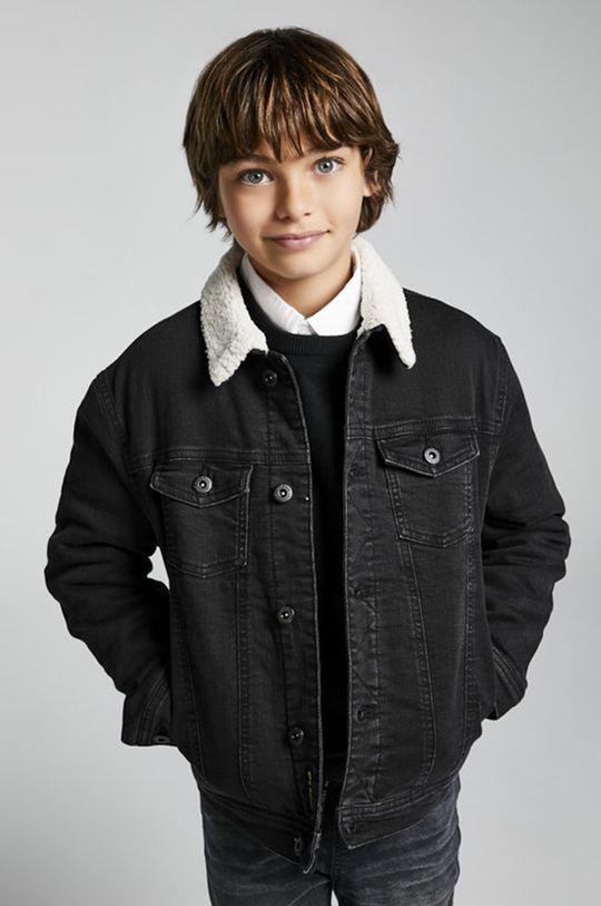 čierna Mayoral - Detská rifľová bunda Chlapčenský