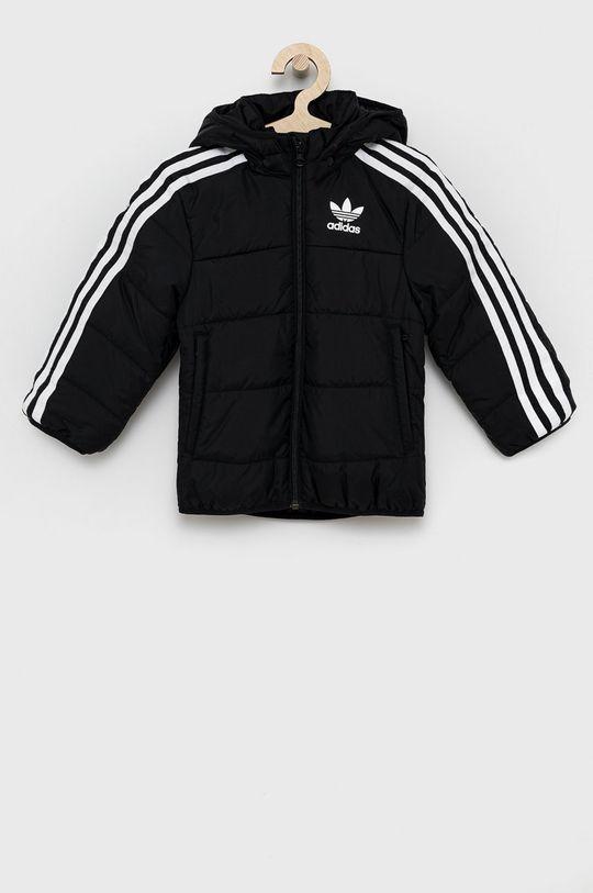 czarny adidas Originals - Kurtka dziecięca Chłopięcy