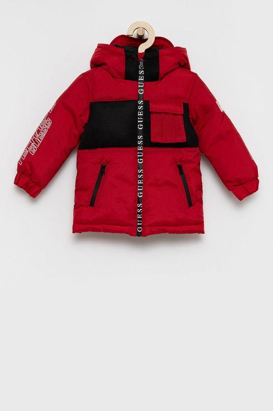 czerwony Guess - Kurtka dziecięca Chłopięcy