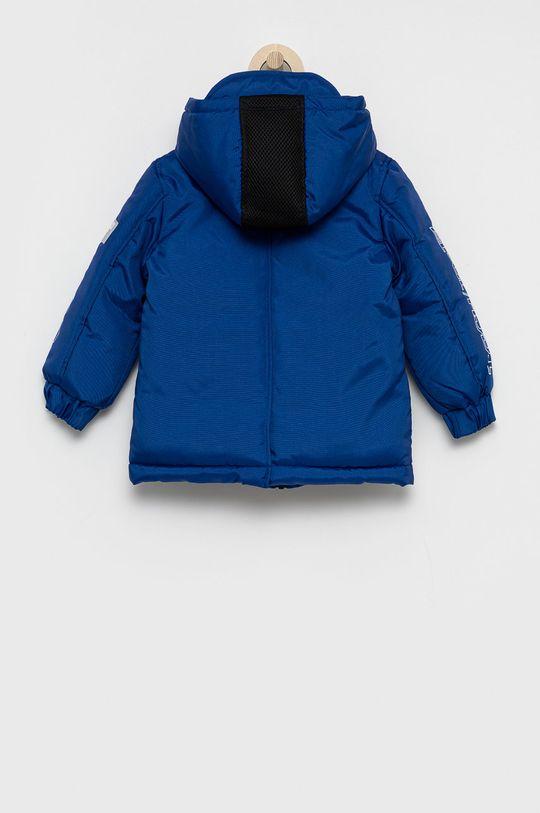 Guess - Kurtka dziecięca niebieski
