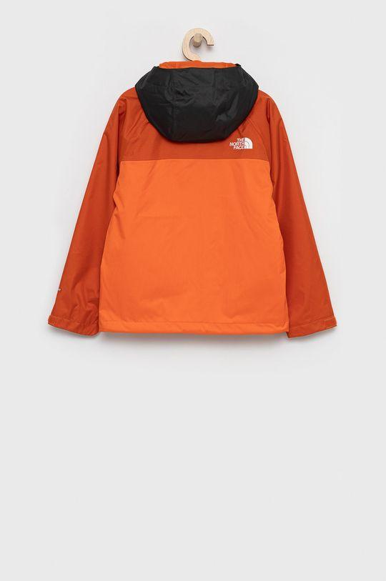 The North Face - Kurtka dziecięca pomarańczowy