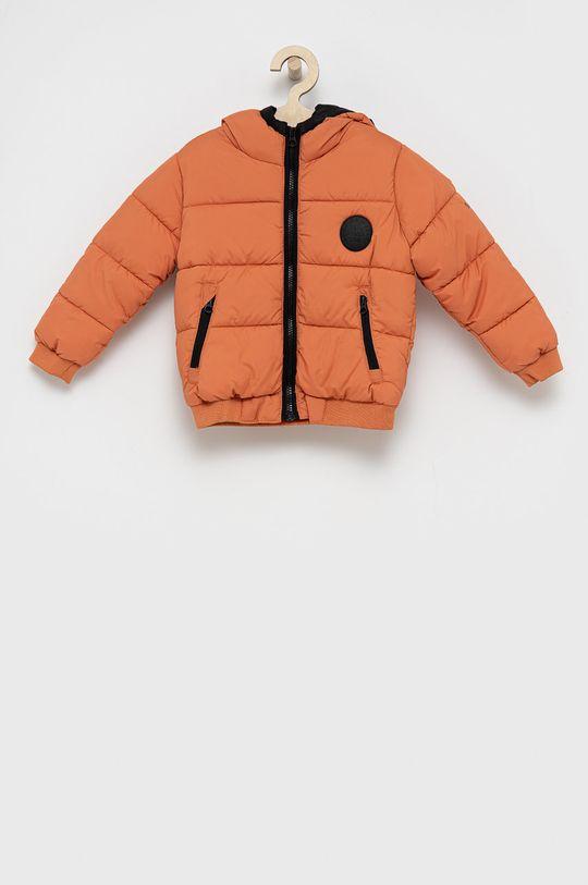 πορτοκαλί Pepe Jeans - Παιδικό μπουφάν Fran Για αγόρια
