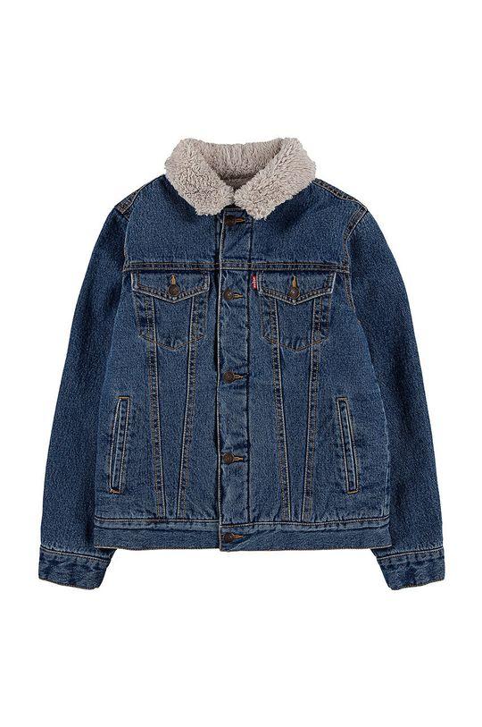 jasny niebieski Levi's - Kurtka jeansowa dziecięca Chłopięcy