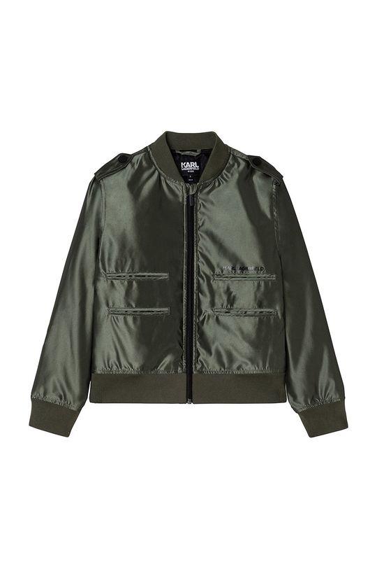 verde murdar Karl Lagerfeld - Geaca bomber pentru copii De băieți