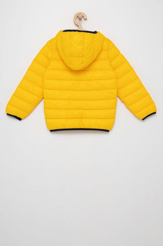 United Colors of Benetton - Kurtka dziecięca żółty