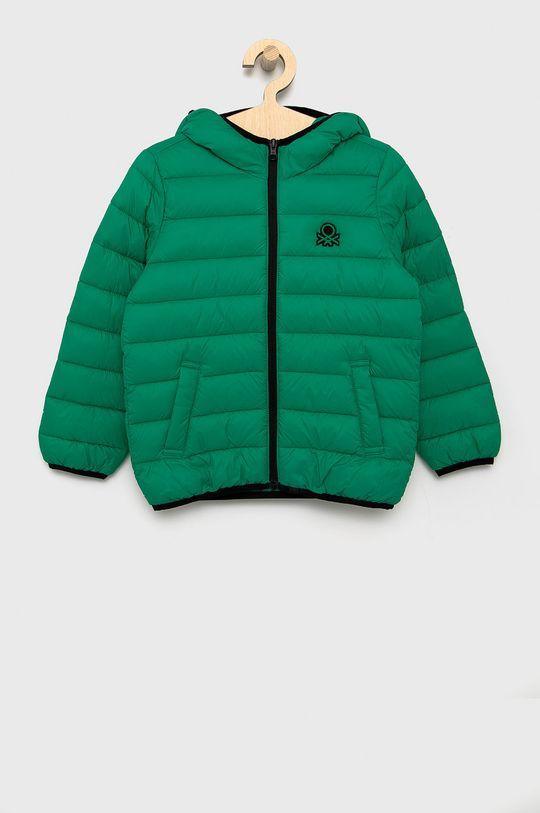 zielony United Colors of Benetton - Kurtka dziecięca Chłopięcy