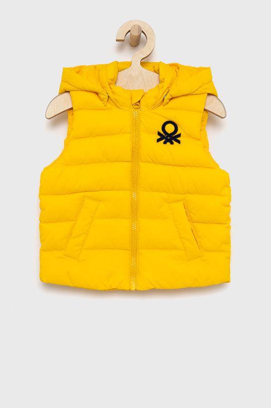 galben United Colors of Benetton - Vesta copii De băieți