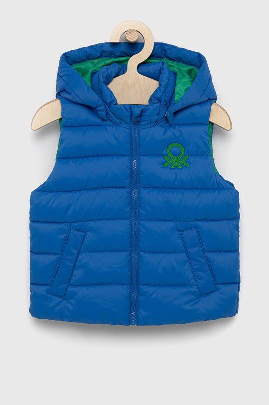 albastru United Colors of Benetton - Vesta copii De băieți
