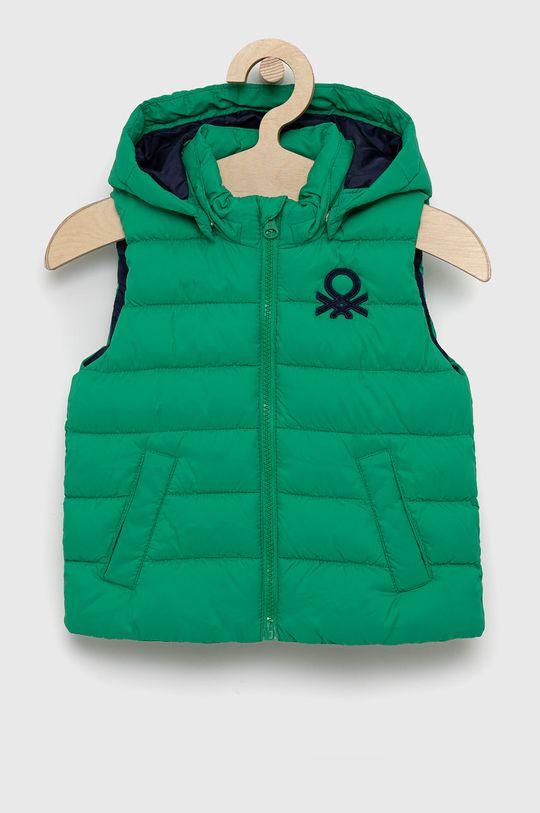 verde United Colors of Benetton - Vesta copii De băieți