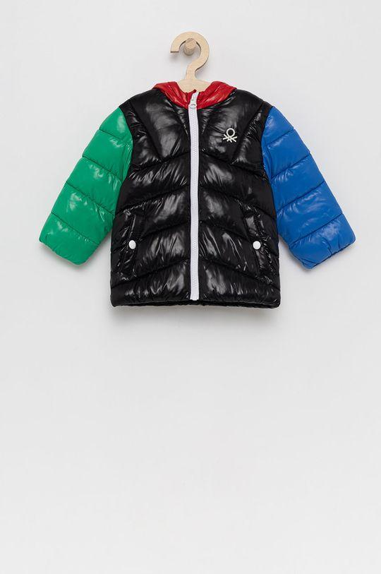 negru United Colors of Benetton - Geaca copii De băieți
