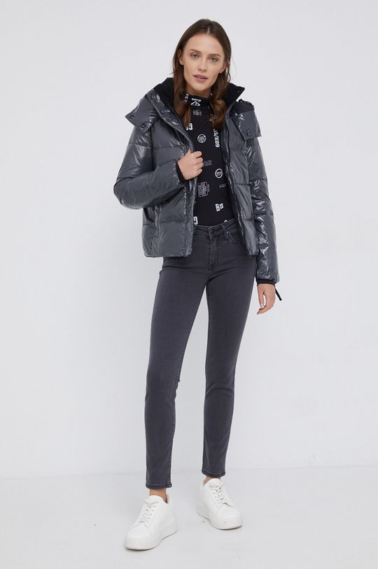 szary Calvin Klein Jeans - Kurtka Damski