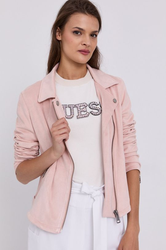 różowy Guess - Ramoneska Damski