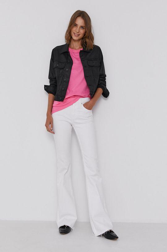Calvin Klein Jeans - Bunda  2% Elastan, 59% Modal, 39% Polyester