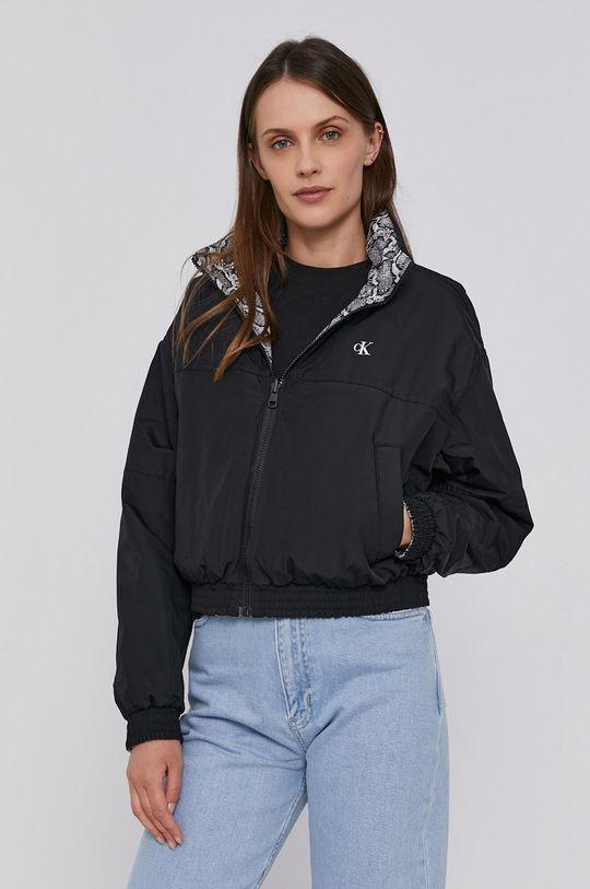 černá Calvin Klein Jeans - Oboustranná bunda Dámský