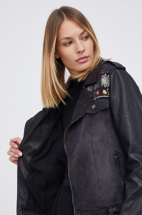 Desigual - Ramoneska jeansowa