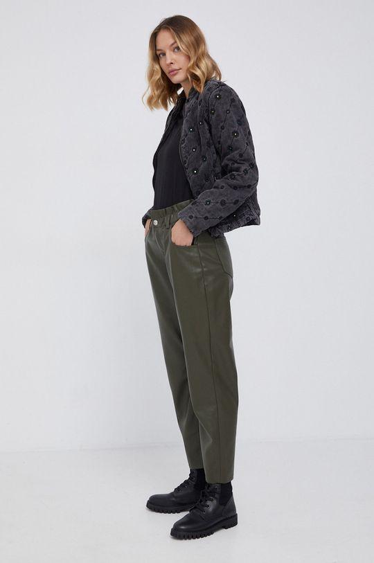Desigual - Kurtka jeansowa czarny