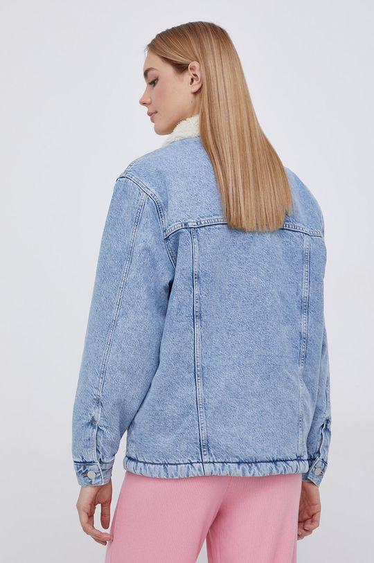 Tommy Jeans - Džínová bunda  Výplň: 100% Polyester Hlavní materiál: 100% Bavlna Umělá kožešina: 9% Akryl, 91% Polyester Podšívka rukávů: 100% Polyester