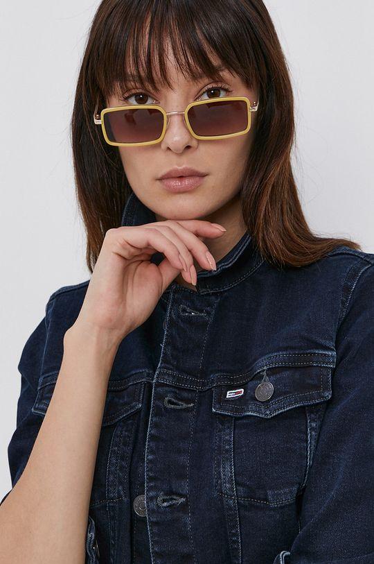 námořnická modř Tommy Jeans - Džínová bunda