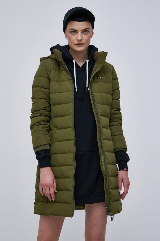 Tommy Jeans - Kurtka oliwkowy