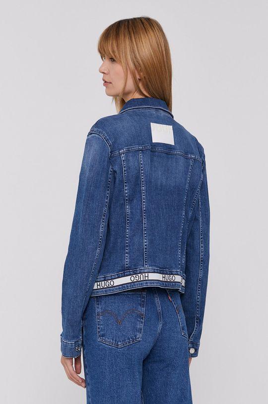 Hugo - Rifľová bunda  66% Bavlna, 2% Elastan, 16% Recyklovaný polyester