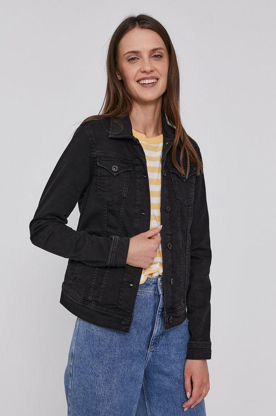 námořnická modř Pepe Jeans - Džínová bunda Thirft Dámský