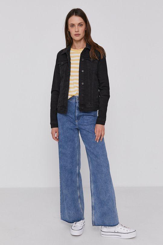 Pepe Jeans - Džínová bunda Thirft námořnická modř