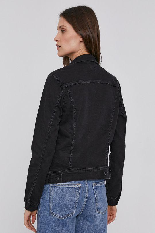 Pepe Jeans - Džínová bunda Thirft  72% Bavlna, 2% Elastan, 12% Polyester, 14% Viskóza