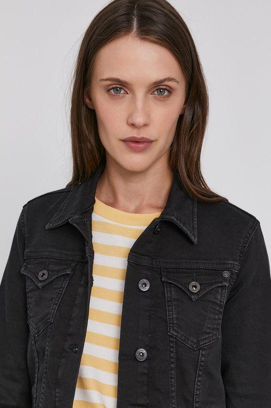 námořnická modř Pepe Jeans - Džínová bunda Thirft