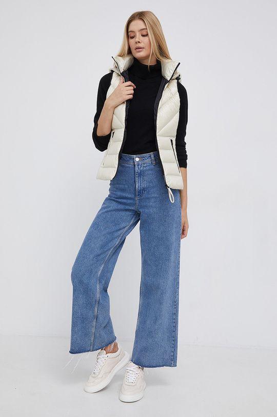 Calvin Klein - Péřová vesta smetanová