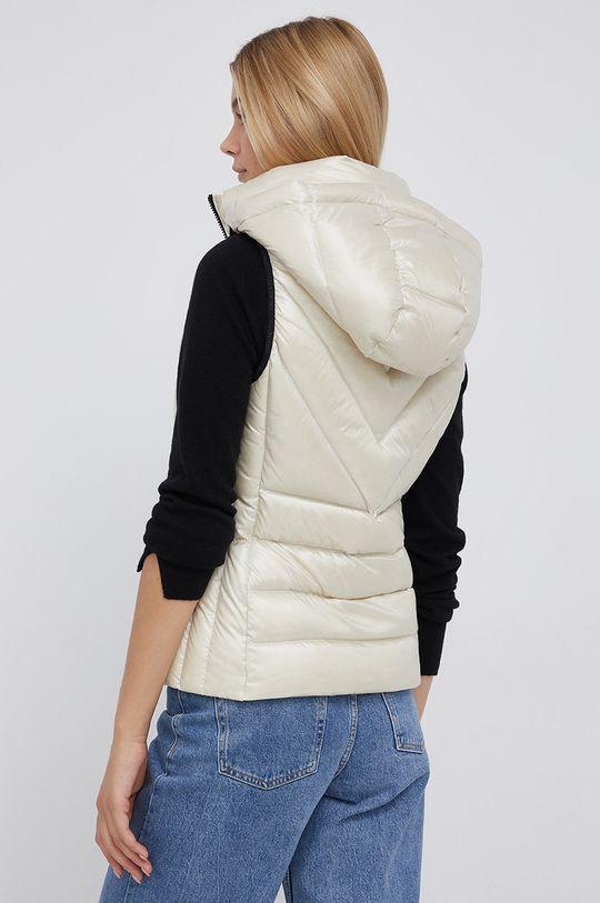 Calvin Klein - Péřová vesta  Podšívka: 100% Polyester Výplň: 10% Peří, 90% Chmýří Hlavní materiál: 44% Polyamid, 56% Polyester