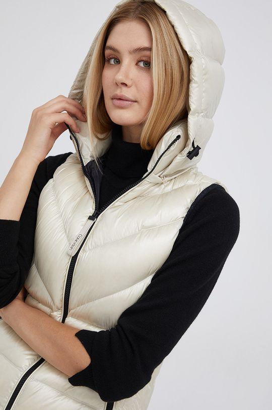 smetanová Calvin Klein - Péřová vesta