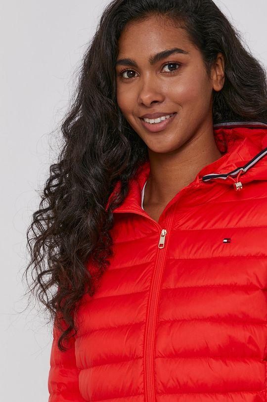 oranžová Tommy Hilfiger - Péřová bunda