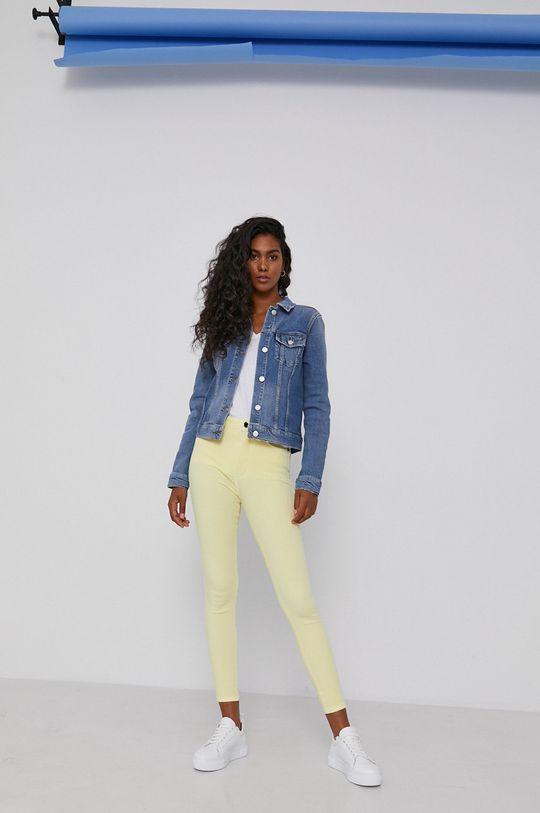 Tommy Hilfiger - Kurtka jeansowa niebieski