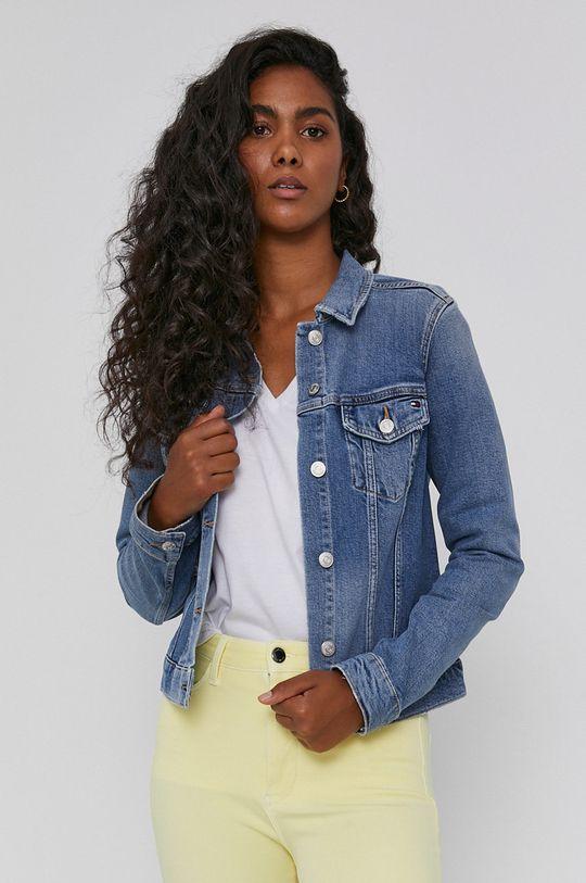 niebieski Tommy Hilfiger - Kurtka jeansowa
