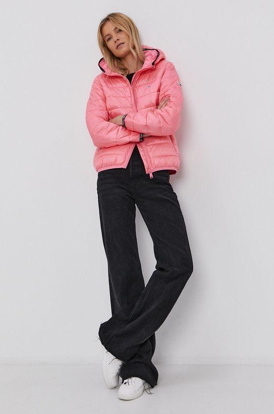Tommy Jeans - Bunda růžová