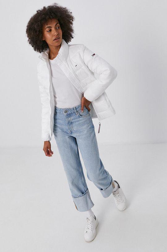 Tommy Jeans - Kurtka biały